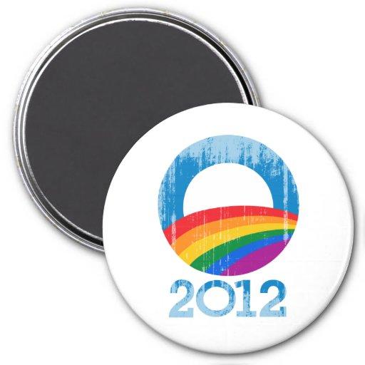 Obama Pride 7.5 Cm Round Magnet