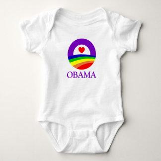 Obama Pride Clothing Baby Bodysuit