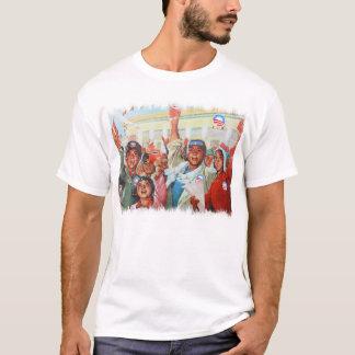 Obama Propaganda Men's Shirt