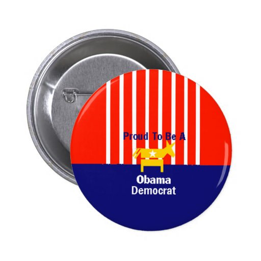 Obama Proud Button