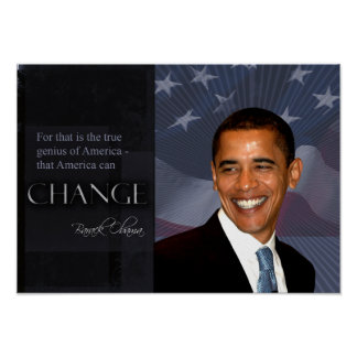 Obama Quote Poster