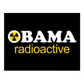Obama Radioactive Postcard