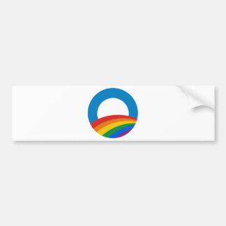 Obama Rainbow Bumper Sticker