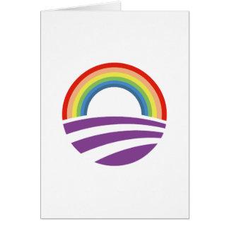 Obama Rainbow Cards
