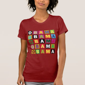 Obama Rainbow Colors boxes T-Shirt