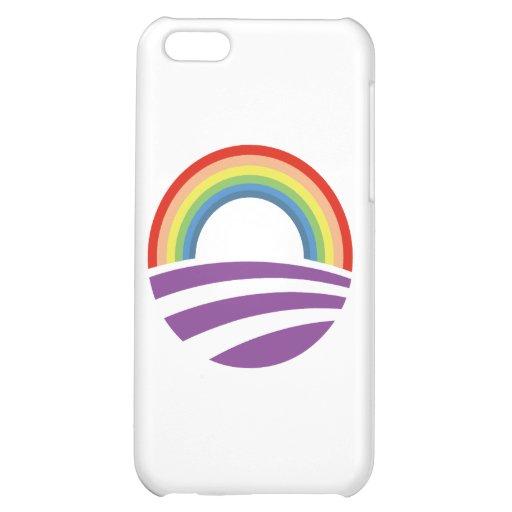Obama Rainbow iPhone 5C Cover