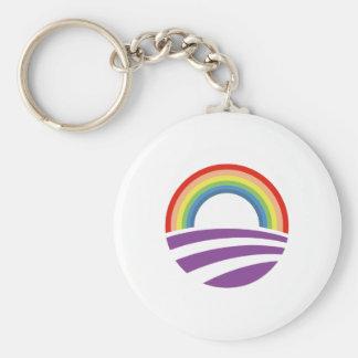 Obama Rainbow Keychains