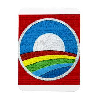 Obama Rainbow  Magnet for 2012