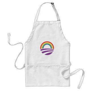 Obama Rainbow Standard Apron