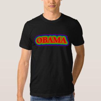 Obama Rainbow Tshirts