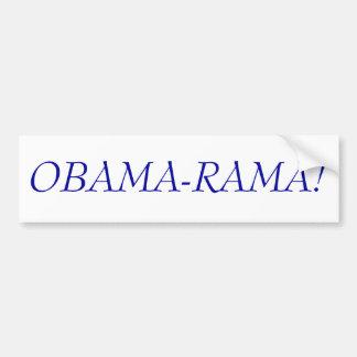 OBAMA-RAMA! BUMPER STICKER