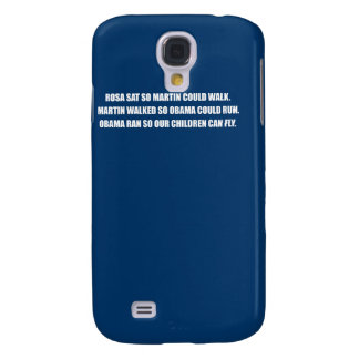 OBAMA RAN SO OUR CHILDREN CAN FLY png Samsung Galaxy S4 Cover
