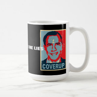 Obama - Read Between the Lies Coffee Mug