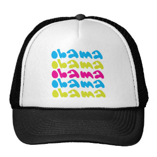 obama repeat mesh hat