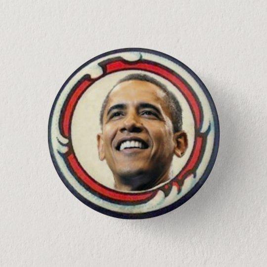 Obama Retro-Style Button