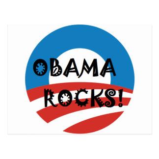 OBAMA ROCKS.png Post Cards