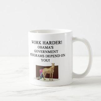 OBAMA' S socialist america Basic White Mug