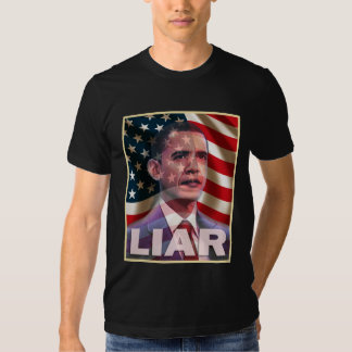 Obama scares me - He is a liar T-Shirt