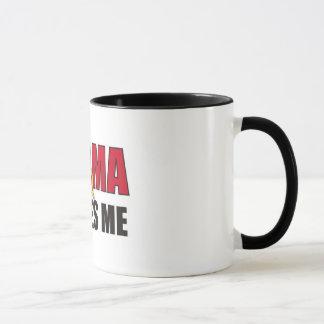 Obama scares me mug