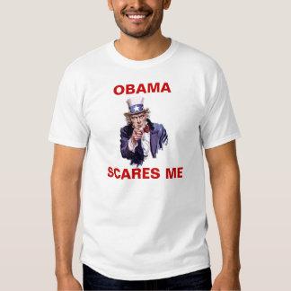 Obama scares Uncle Sam Shirts