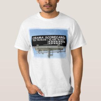 Obama Scorecard T-Shirt