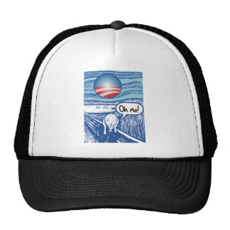 obama scream mesh hats
