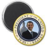 Obama Seal Blue Fridge Magnet