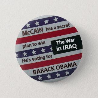 Obama Secret Plan Button