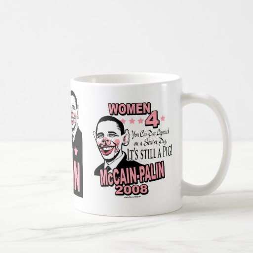 Obama Sexist Pig Gear Mugs