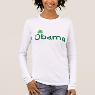 Obama Shamrock Long Sleeve T-Shirt