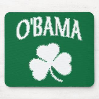 Obama Shamrock Mouse Pad