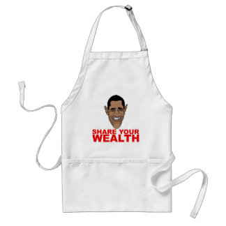 Obama: Share your wealth Standard Apron