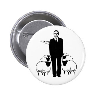 Obama Sheep 6 Cm Round Badge