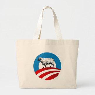 OBAMA SHEEP TOTE BAG