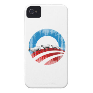 Obama Sheep Faded.png Case-Mate iPhone 4 Cases