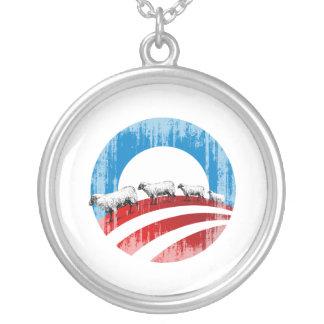 Obama Sheep Faded.png Custom Jewelry