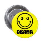 Obama Smile Pinback Button