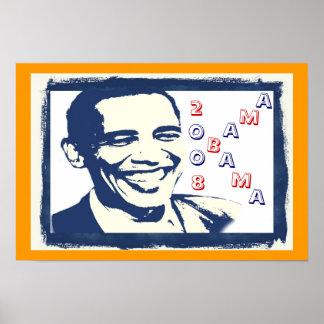 Obama Smile Poster