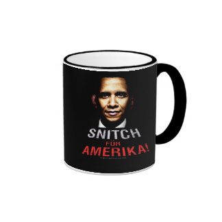 Obama Snitch Ringer Mug