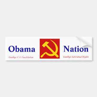 Obama Socialist Bumper Sticker