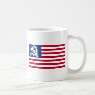Obama Socialist Flag Mugs