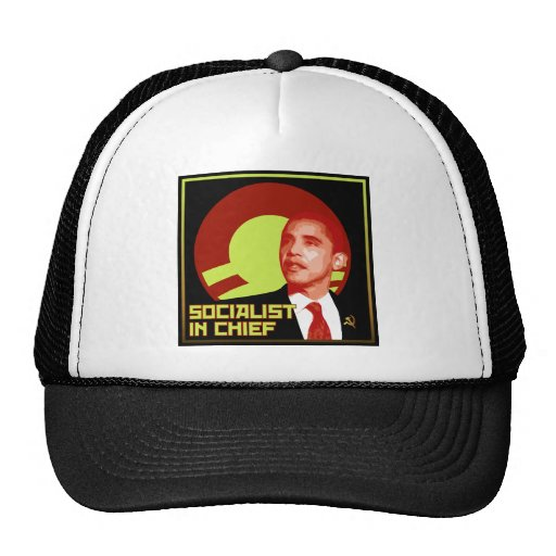 Obama: Socialist in Chief Mesh Hat