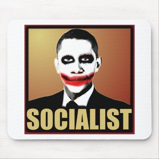Obama Socialist Mouse Pad