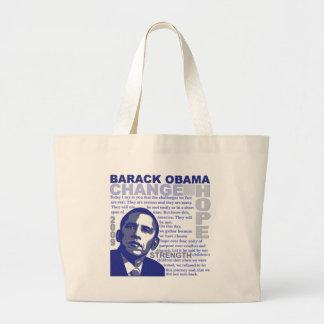 Obama Speech Canvas Bags