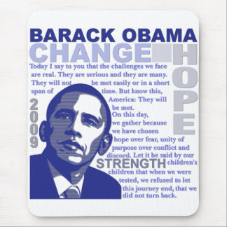 Obama Speech Mouse Pads
