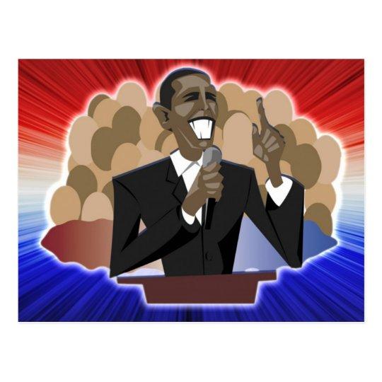 Obama Speech Postcard