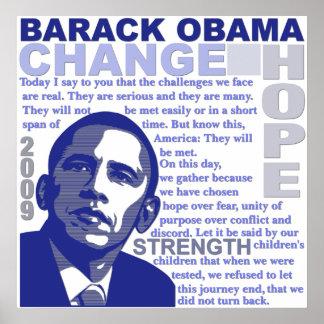 Obama Speech Print
