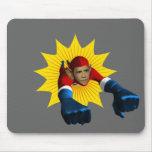 Obama Starburst Mousemats