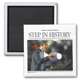 Obama: Step in History Magnet