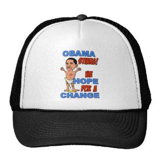 Obama Stinks We Hope For A Change Hat